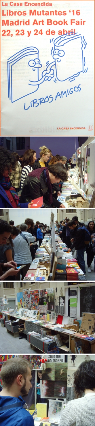 LIBROS MUTANTES : MADRID ART BOOK FAIR