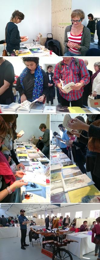 participation au marché du livre de Mariemont 2015