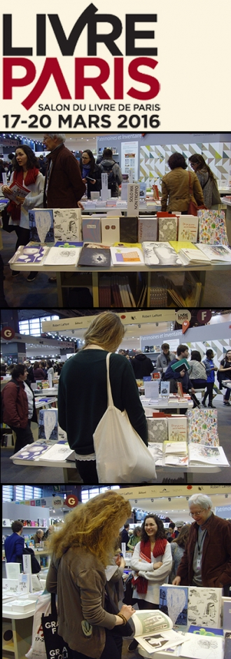 SALON DU LIVRE DE PARIS 2016