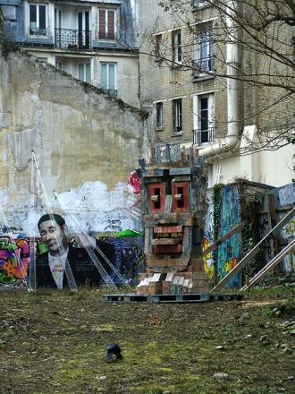 > réseau Friche - rue Etex, Paris 18ème