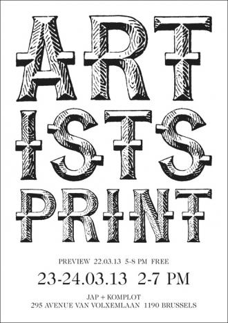 ARTISTS PRINT # 2